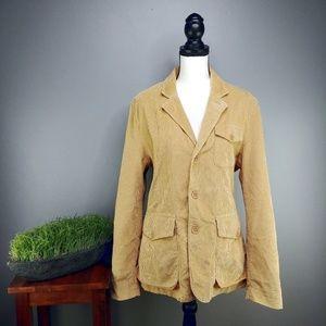 Timberland Autumn Gold Corduroy Button Up Jacket